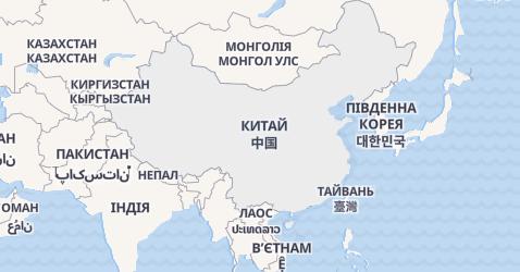Китай - мапа