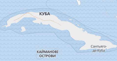 Куба - мапа