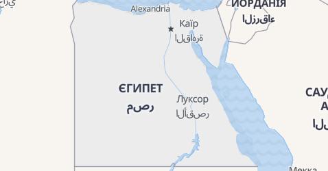 Єгипет - мапа