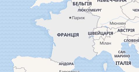 Франція - мапа