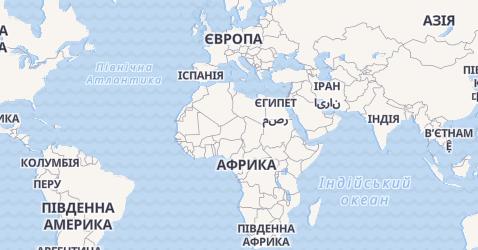 Великобританія - мапа