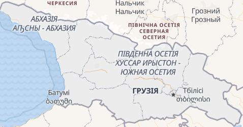 Грузія - мапа