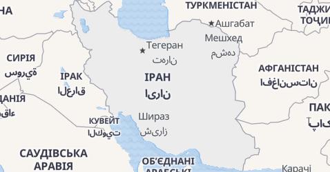Іран - мапа