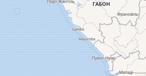 Кірібаті - мапа