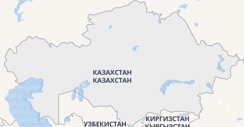Казахстан - мапа