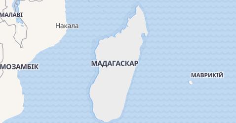 Мадагаскар - мапа