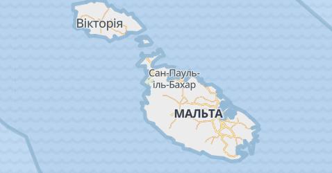 Мальта - мапа