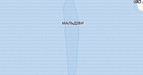 Мальдіви - мапа