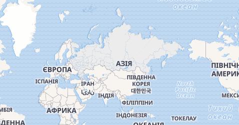 Росія - мапа