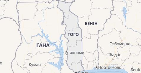 Того - мапа