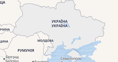 Україна - мапа