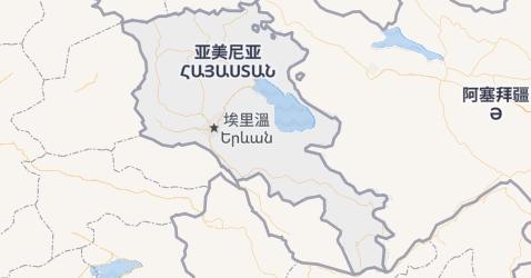 亚美尼亚地图