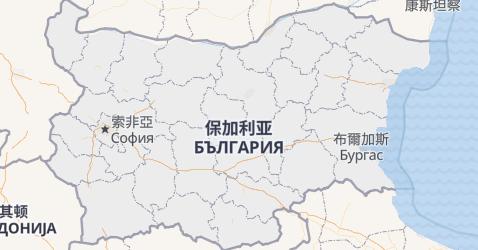 保加利亚地图