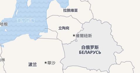 白俄罗斯地图