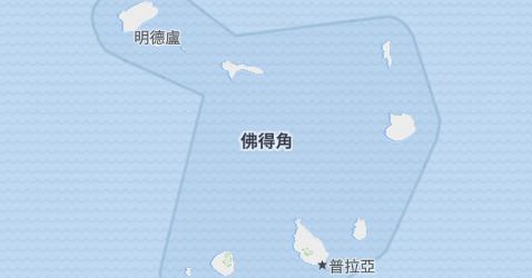 佛得角地图