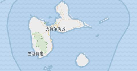 瓜德罗普地图