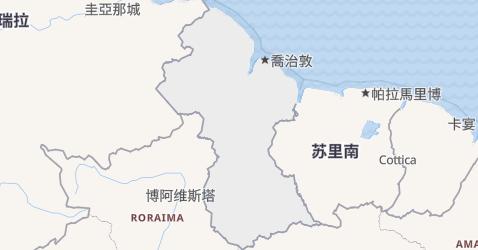 圭亚那地图