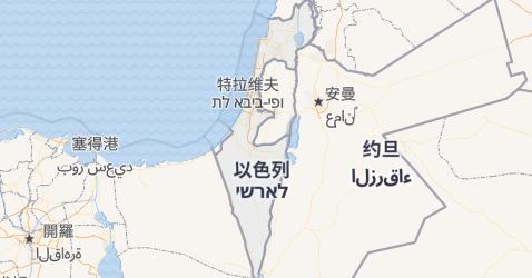 以色列地图