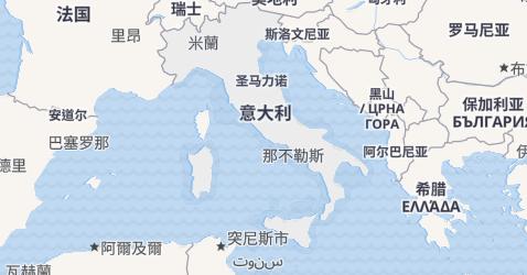 意大利地图