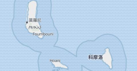 科摩罗地图