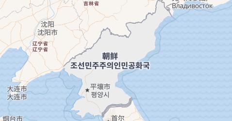 朝鲜民主主义人民共和国地图