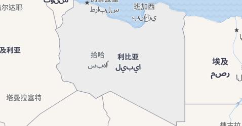 利比亚地图