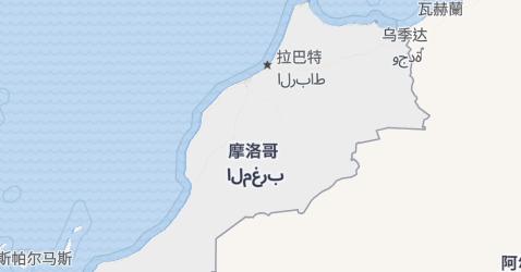 摩洛哥地图