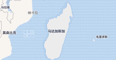 马达加斯加地图