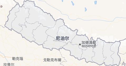尼泊尔地图