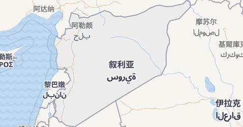 叙利亚地图