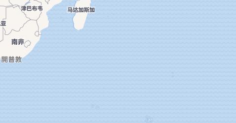 法属南部领地地图