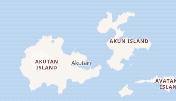 Akutan, Alaska map