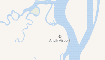 Anvik, Alaska map
