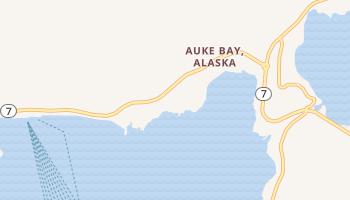 Auke Bay, Alaska map