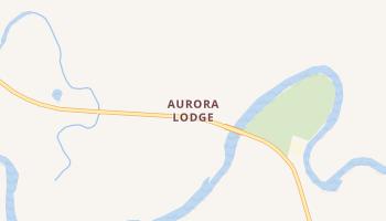Aurora Lodge, Alaska map