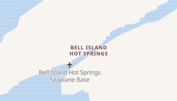 Bell Island Hot Springs, Alaska map