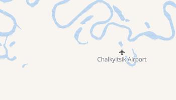 Chalkyitsik, Alaska map