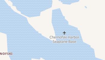 Chernofski, Alaska map