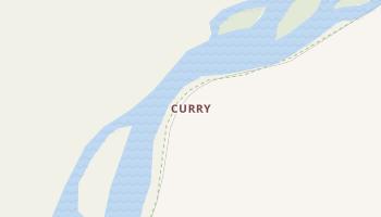 Curry, Alaska map