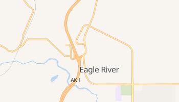 Eagle River, Alaska map