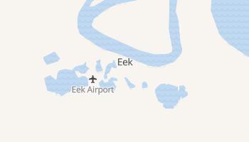 Eek, Alaska map