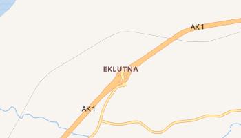 Eklutna, Alaska map