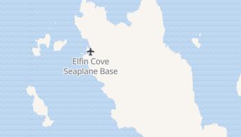 Elfin Cove, Alaska map