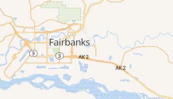 Fairbanks, Alaska map