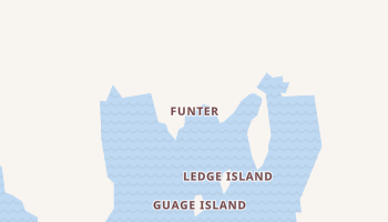 Funter, Alaska map