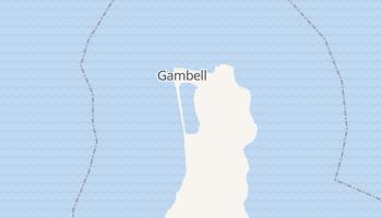 Gambell, Alaska map