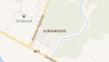 Girdwood, Alaska map