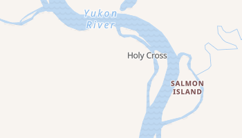 Holy Cross, Alaska map
