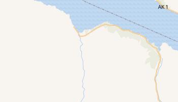 Hope, Alaska map