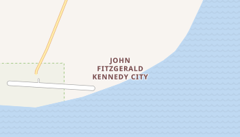 John Fitzgerald Kennedy City, Alaska map